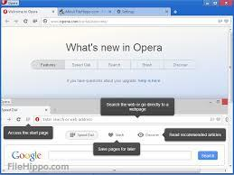 opera whats new